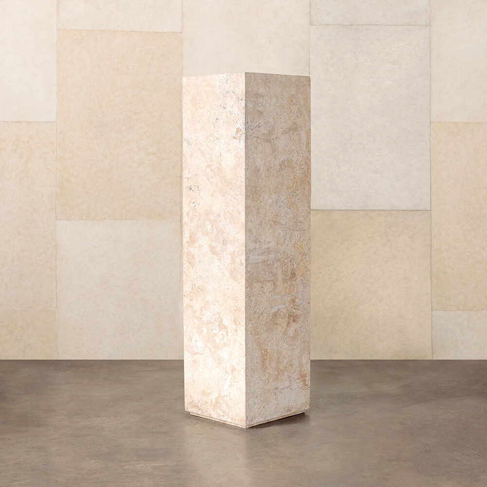 TRAVERTINE COLUMN