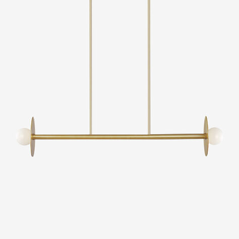 NODES MEDIUM LINEAR CHANDELIER