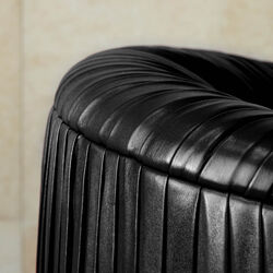 SOUFFLE SWIVEL CLUB CHAIR - RUCHED