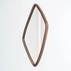 FINLEY MIRROR - WALNUT