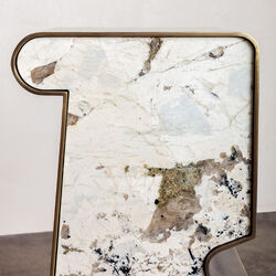 SUPERLUXE TRIAD SIDE TABLE