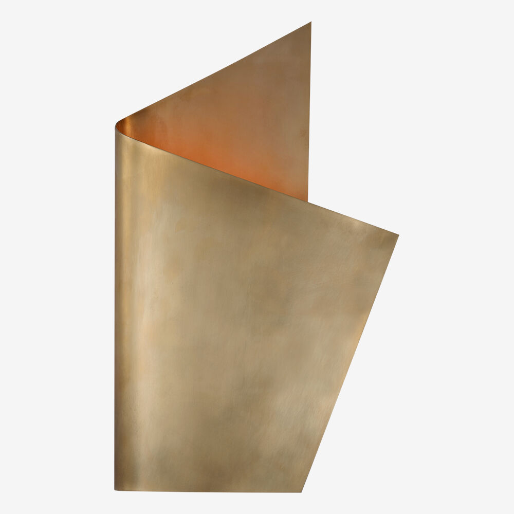 PIEL RIGHT WRAPPED SCONCE