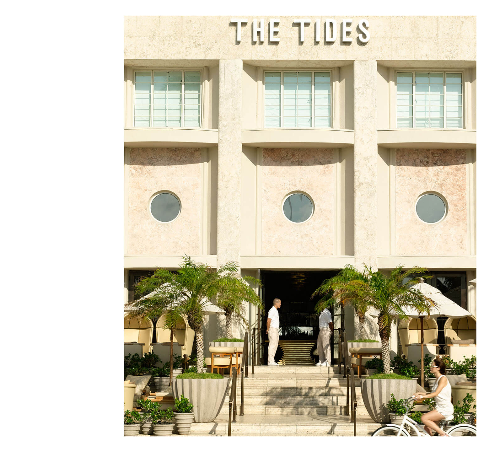 ... The Historic Tides South Beach Unveiled A Fresh Face And Refined Look  In Summer 2008 When Kelly Wearstler Completed Her Re Design.