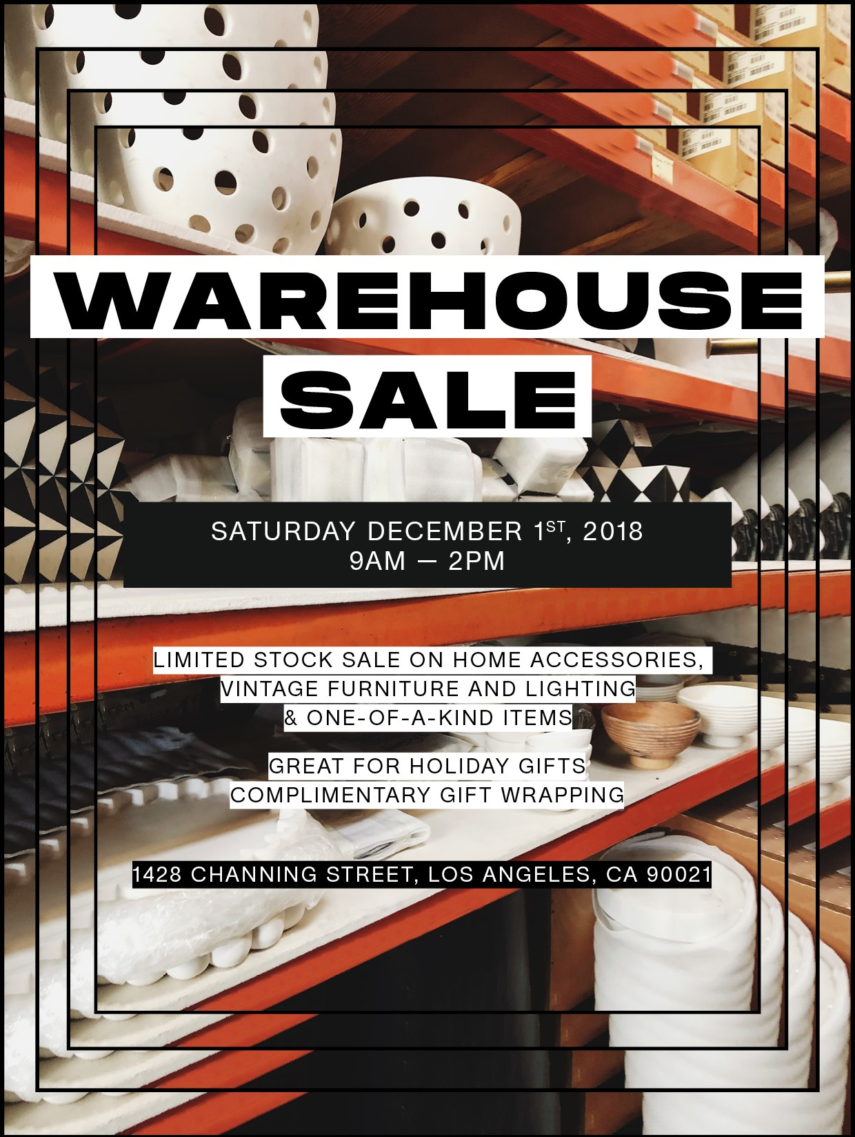 Kelly Wearstler Online Store: Warehouse Sale